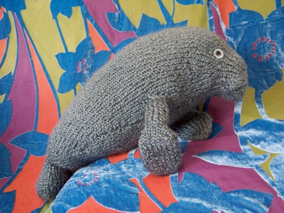 manatee knit pattern
