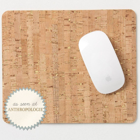Metallic Cork Mousepad