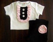 ruffle tee/onesie pants set and GIVE a onesie to a child in need