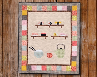 I Love Sushi Quilt Pattern