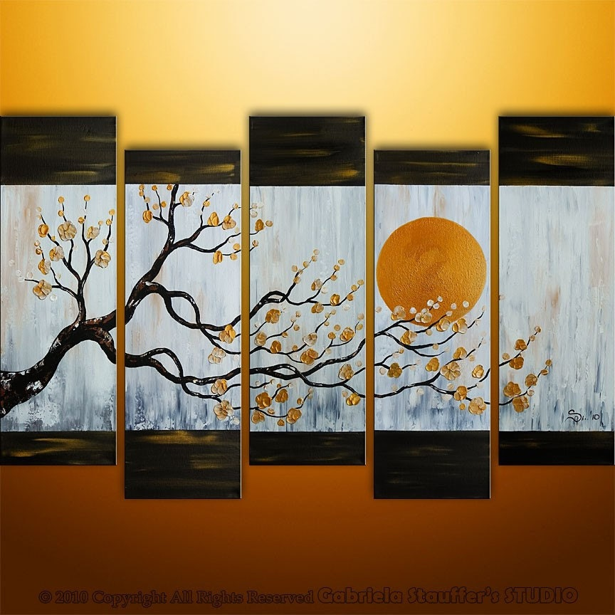 Abstract Painting Tree Painting Landscape Painting Large