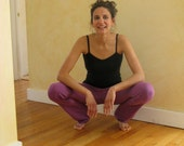 Slim Leg Yoga Pants || Hemp & Organic Cotton w/lycra || Closeout