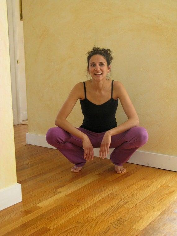Closeout//Slim Leg Yoga Pants || Hemp & Organic Cotton w/lycra ||