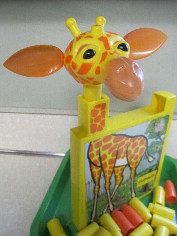 Vintage PlaySkool Giraffe Plastic Game
