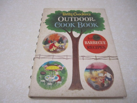 Vintage Cook Book Betty Crocker's Outdoor Barbecue Cookbook