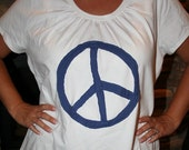 Make Peace Plus Size T-Shirt SALE