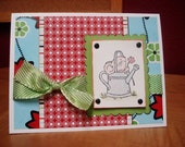 Cute Mouse - card by MyStampHabit