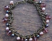 Vintage Rose Bracelet - Beading Kit