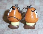 Goomba Earrings