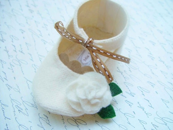 Addison Organic Baby Shoes \/ Booties