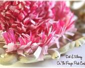 Pink Confection --ON THE FRINGE-- Handmade Crepe Paper Fringe