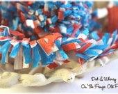 Old Patriot --ON THE FRINGE-- Handmade Crepe Paper Fringe
