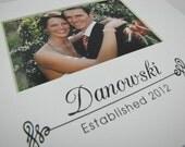 Family Name Established Date Custom 8 x 10 Picture Photo Mat Danowski Design C 15