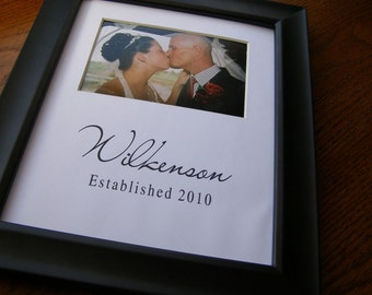 Wilkenson Custom 8 x 10 Photo Mat Design C3