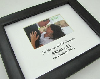 For Time and All Eternity Custom 8 x 10 Photo Frame Picture Mat Design Cust 16