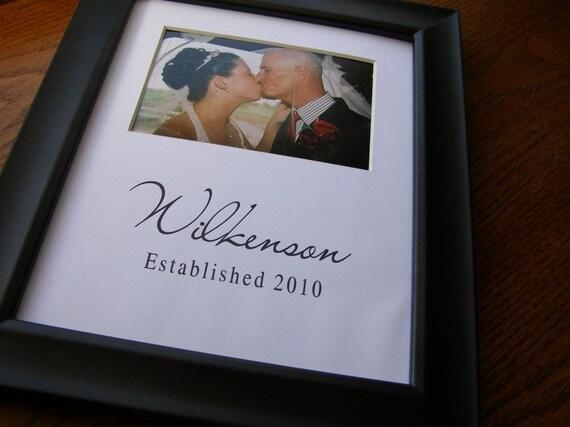 Wilkenson Custom 8 x 10 Photo Mat Design Cust 3