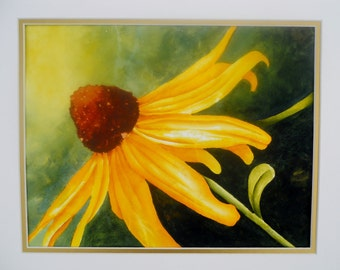 SALE Cone Flower Watercolor