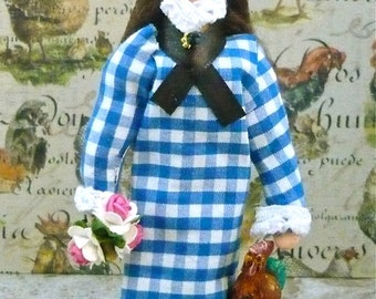 Laura Ingalls Doll Miniature Historical Art Character