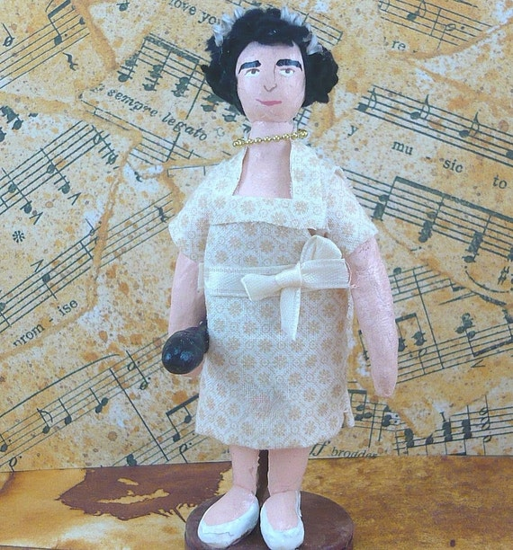 Susan Boyle As Seen on the Today Show Art Doll Miniature