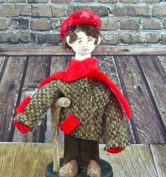 Tiny Tim A Christmas Carol: Dickens Christmas Carol Tiny Tim Doll Victorian Era
