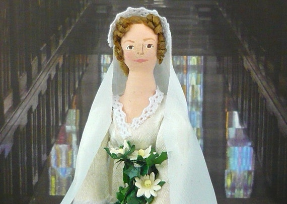 Jane Austen Pride and Prejudice Wedding Day Doll Jane Bennet Marries Mr. Bingley