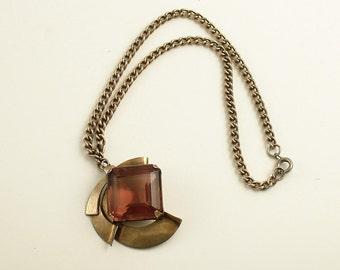 Vintage Necklace Pendant Costume Jewelry