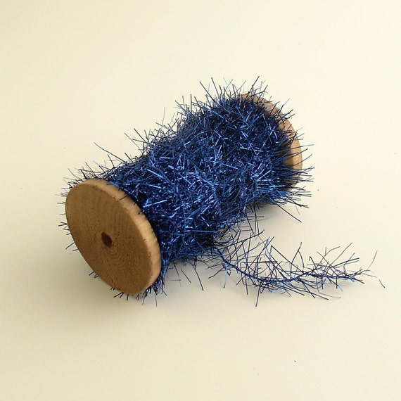 Tinsel Garland Blue
