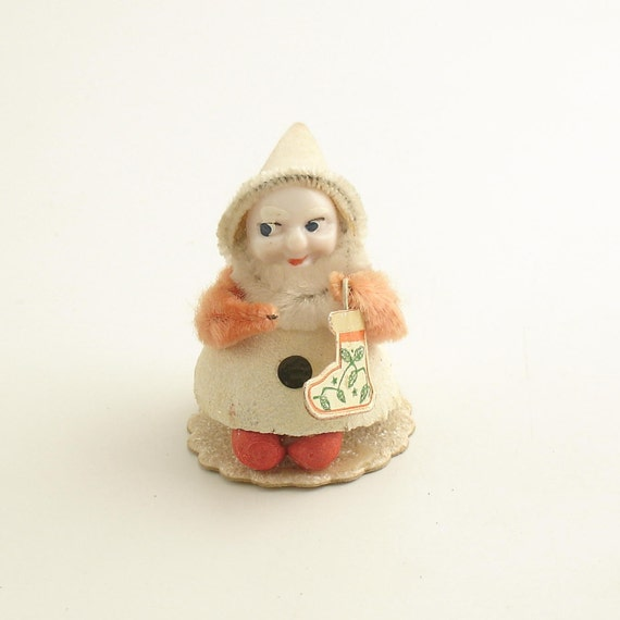 Vintage Elf Gnome Christmas Decoration