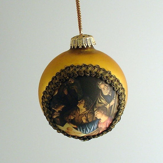 Vintage Christmas Ornament  West Germany