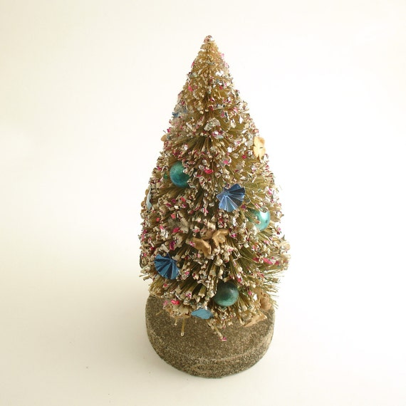 Vintage Bottle Brush Tree Christmas