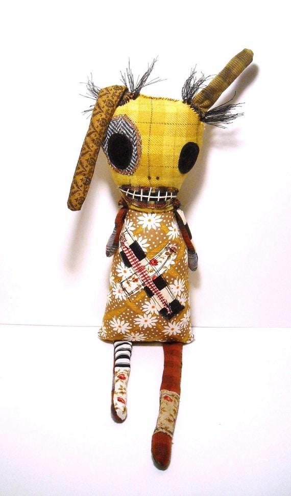 Handmade Monster Rag Doll ( Monster Rag Doll Paria)