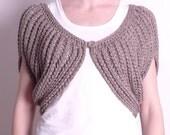 Dinky Cape knitting pattern
