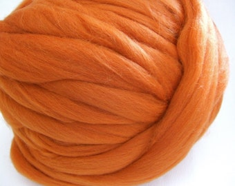 Copper Colonial Wool Top - 3 Ounces