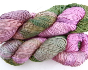 Fyberspates Silk and Merino DK Yarn - Flowers