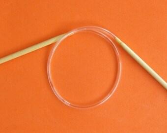 16 Inch Circular Bamboo Knitting Needles - Size 0 or 1