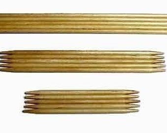 Bamboo Double Point Needles - Size 5