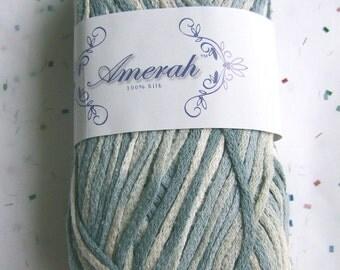 Amerah Silk Yarn - Blues