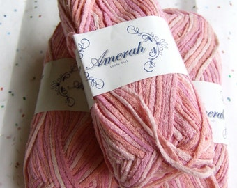 Amerah Silk Yarn - Pink