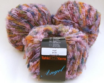 Tahki Angel Yarn - Pink