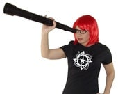 Birthday Gift Idea - Full of Stars - The Tattoo Collection - black - womens fitted tshirt
