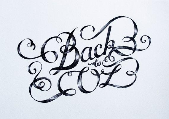 Back To Oz - Ink Illustration