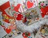 SALE 20 Vintage Valentines & Antique Postcards