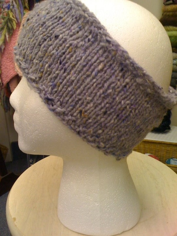 Knit Headband Pattern In The Round : East End Winter Headband Knit PDF Pattern only by ...