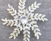 Snowflake star hairclip