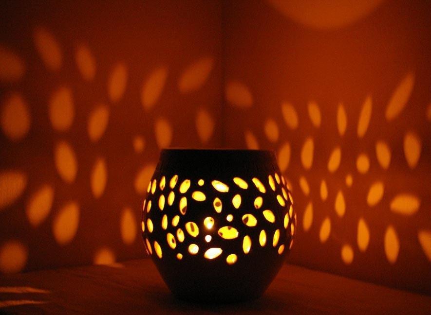 Pretty Little Liars Handmade Candle Luminary Stoneware