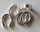4mm Silver Plated Wire Guardians, Pack of 100 *CLEARANCE*