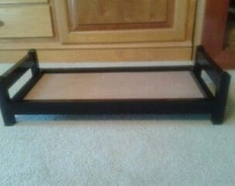Doll Bed Color Black Gloss