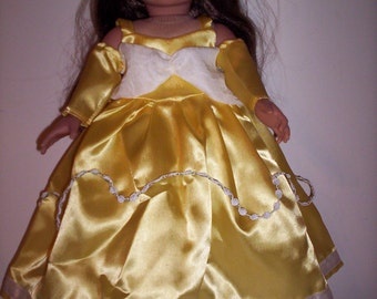Disney Princess Belle (Beauty and the Beast) Costume Ensemble