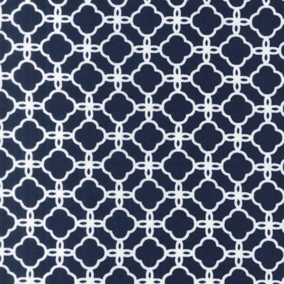 Robert Kaufman Pimatex Basics Lattice in Navy BKT-12690 Cotton Quilting Fabric 3/4  Yard