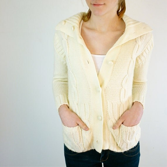 Vintage Cardigan - XS Sweater